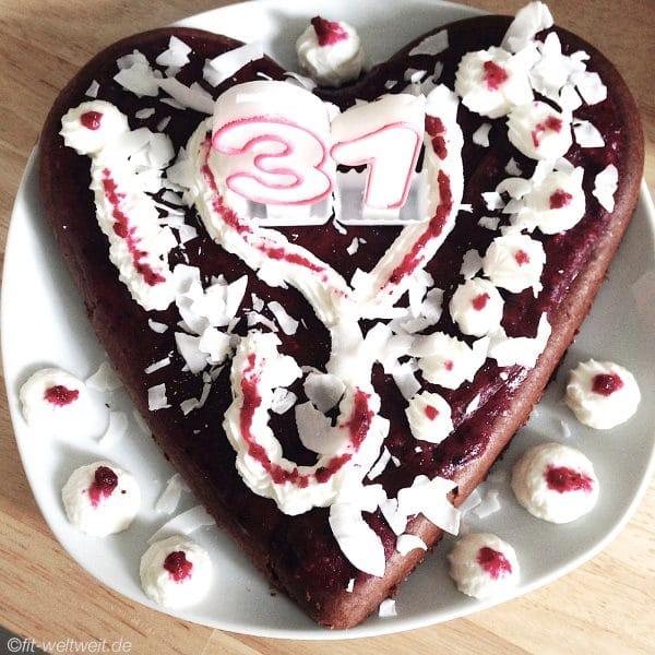 Schoko Protein Kuchen Rote Beete Fit Weltweit De
