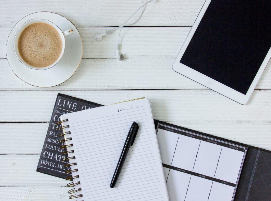 Kaffee zum Arbeiten gemütlich