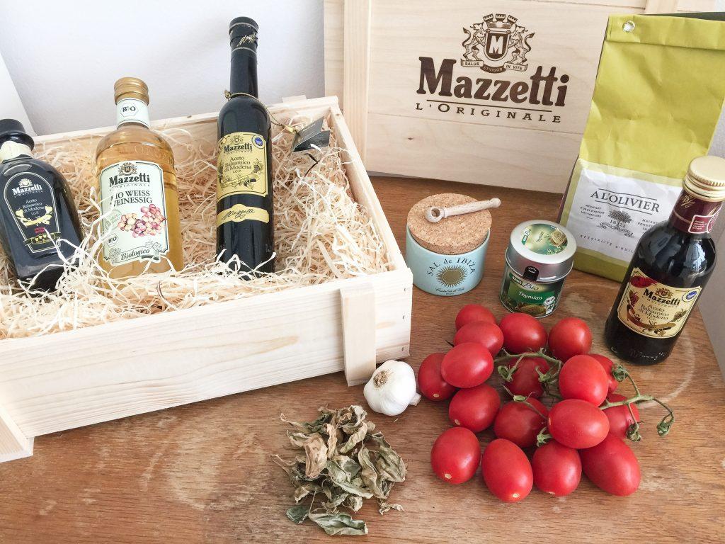 Zutaten für diese italienischeAntipasti:Ein einfaches Rezept