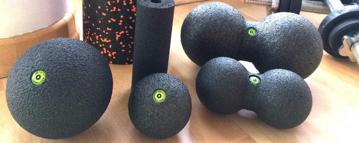 Faszienrolle: Blackroll Duoball & Miniroll Anleitung