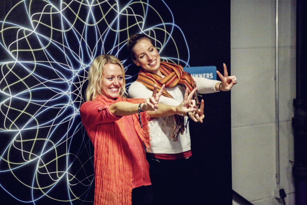 Kirstin von eattrainlove beim Adidas Supernova Bloggertreff
