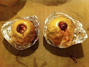 Fertiger Bratapfel im Ofen backen