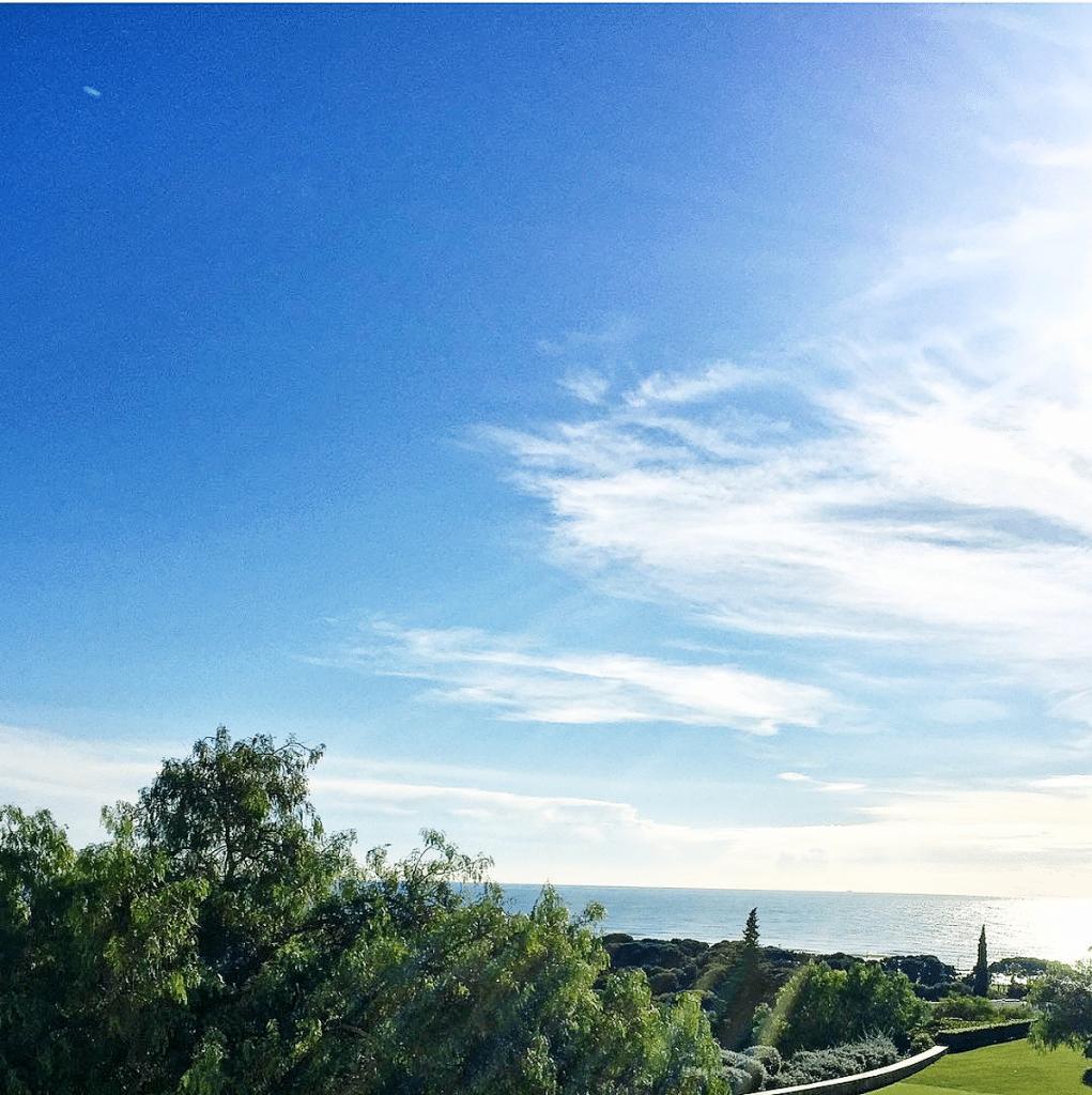Bloggen in Spanien: Es war herrliches Wetter in Spanien.
