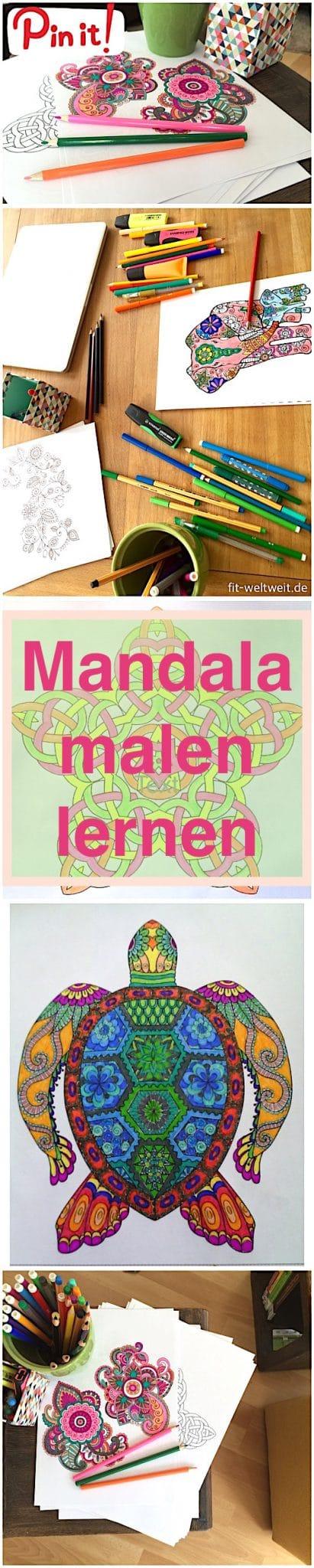 Mandala malen für Erwachsene als Entspannung - das beste was es für die Seele gibt. Stress abbauen und dabei den Kopf freimachen. Gut für Erwachsen, für Kinder, aber besonders auch für Senioren. Die Anleitung und auch DIY Videos zum selber Mandala erstellen findest du in diesem ausführlichen Blogpost. :-)Mandala malen für Erwachsene als Entspannung - Stress abbauen ud entspannen. Gut für Erwachsen, Kinder und Senioren. Die Anleitung und auch DIY Videos ... Mandala malen für Erwachsene als Entspannung (Anleitung, Video und DIY)