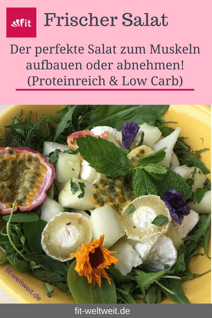 Heute habe ich einen besonders leckeren Salat für dich, der dich mit #Proteine versorgt und beim #Stoffwechsel unterstützen.Ich stehe total auf Honigmelone, #Maracuja und Minze - deswegen sind diese 3 Zutaten dabei.Meine Lieblings #Proteinquelle im Salat.Und weil ich nach dem Training im #Fitnessstudio Proteine brauche, mische ich ... #Sommerrezept #Muskelaufbau #Frauen
