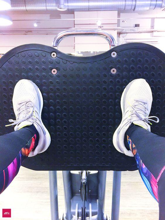 Po Muskulatur und Bein-Training mit der Beinpresse