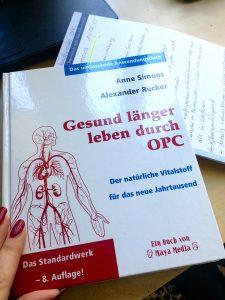 """Anne Simons Buch """"Gesund länger leben durch OPC"""""""