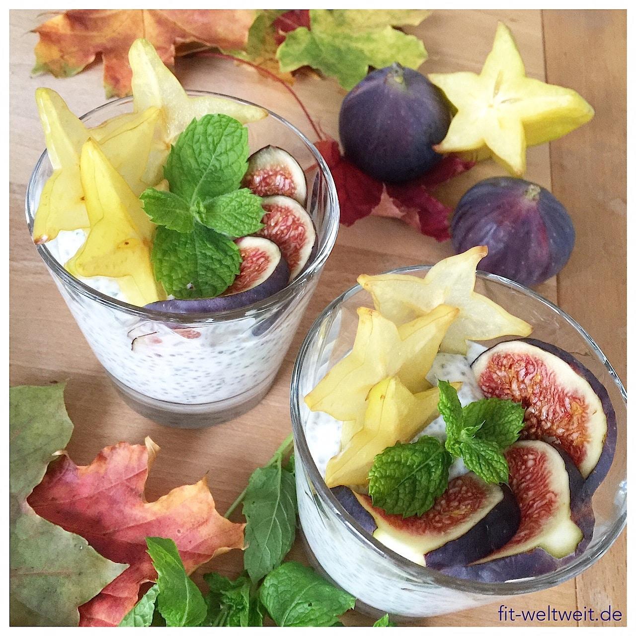 CHIA PUDDING #chiasamen #chiarezepte #chia #rezepte #vegan #proteine CHIA SAMEN Sie werden immer bekannter und es gibt sie im Supermarkt zu kaufen und jedem gut sortieren Bio-Laden. Kannst du ABNEHMEN MIT CHIA SAMEN? Abnehmen durch gesunde Fette? Chia Rezepte mit Chiasamen, Chiawasser mit Zitrone, die gesunde Wirkung von Chia Samen, Chia Rezepte zum Frühstück oder fürs Büro. Wo kannst du Chia Samen kaufen? Besser Bio Chiasamen wählen? Alles Wissenswerte über Chia Samen gibt es auf dem Blog…