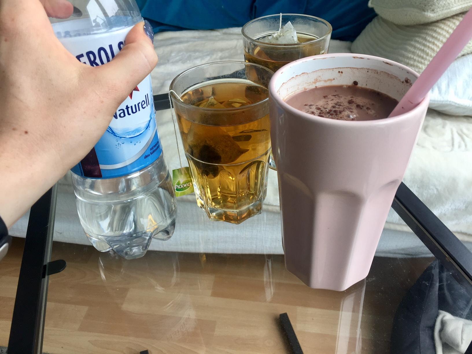 gesunde Trinktipps zum Trinken angewöhnen