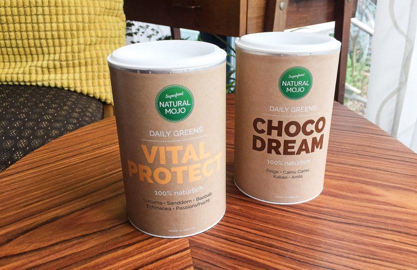 Natural Mojo Choco Dream Vital Protect Daily Greens