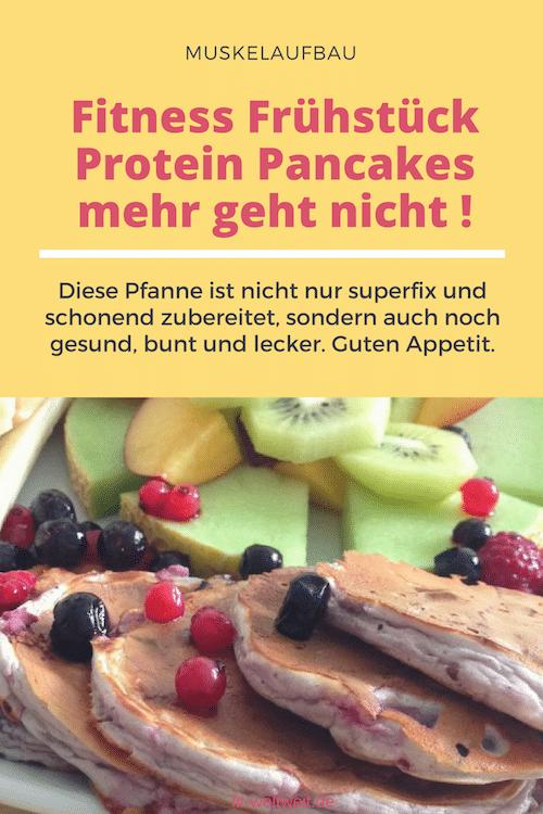 Fitness Frühstück Protein Pancakes mehr geht nicht !
