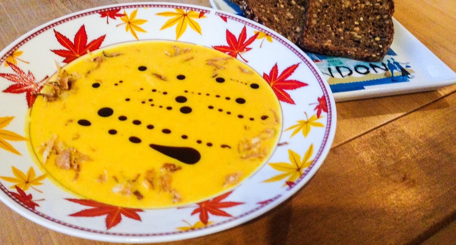 vegane Kürbissuppe für jede Diät
