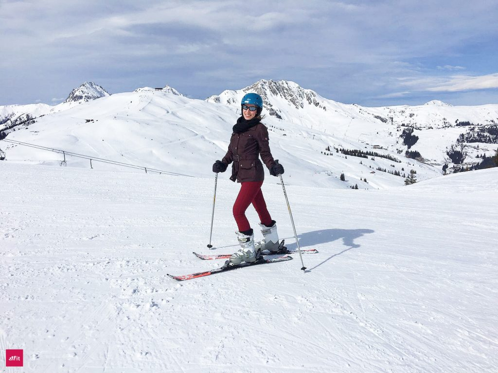 Skifahren in den Kitzbühler Alpen