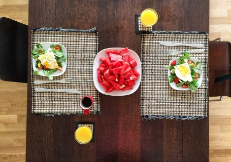 Was kann ich zum Frühstück, Mittag, Abendbrot essen?