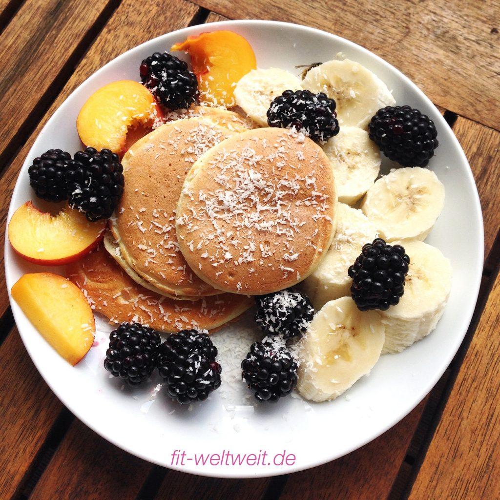 HCG Protein Pancakes - perfekt, wenn du die 21 Tage Stoffwechselkur Diät (strenge Phase) machst, abnehmen möchtest oder ein Low Carb Essen, Pfannkuchen ...