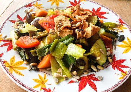 vegane Gemüsepfanne (low carb)