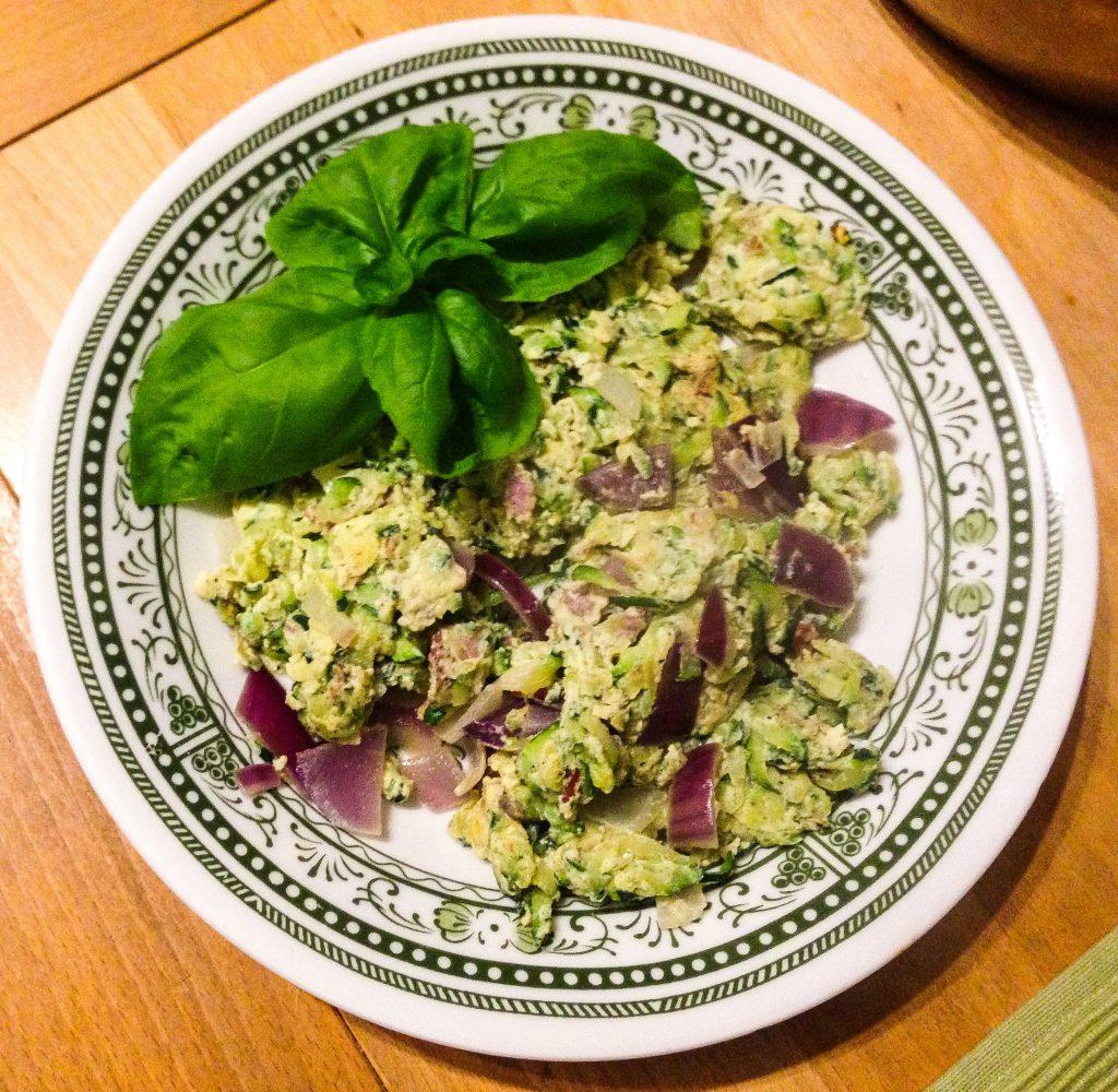 Zucchini Schinken Omelett (Stoffwechselkur Rezept)