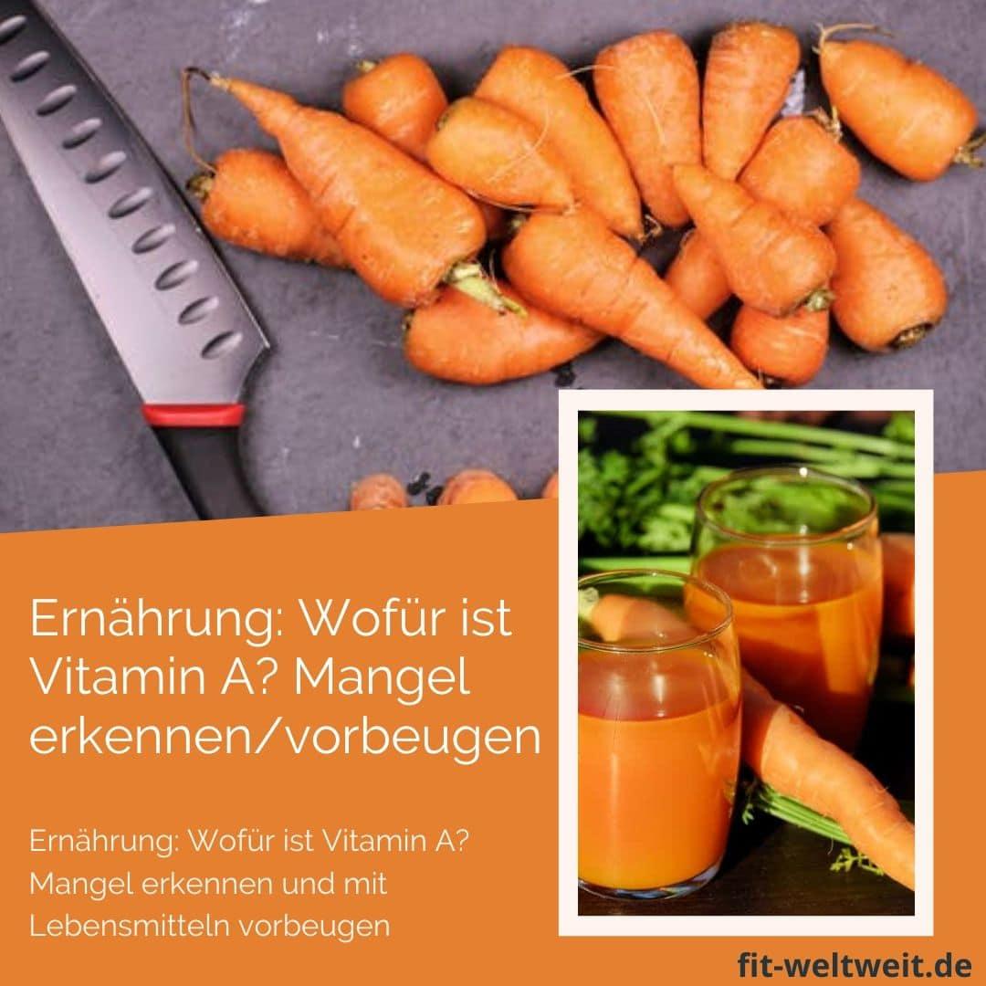 Ernährung: Wofür ist Vitamin A? Mangel erkennen und mit Lebensmitteln vorbeugen