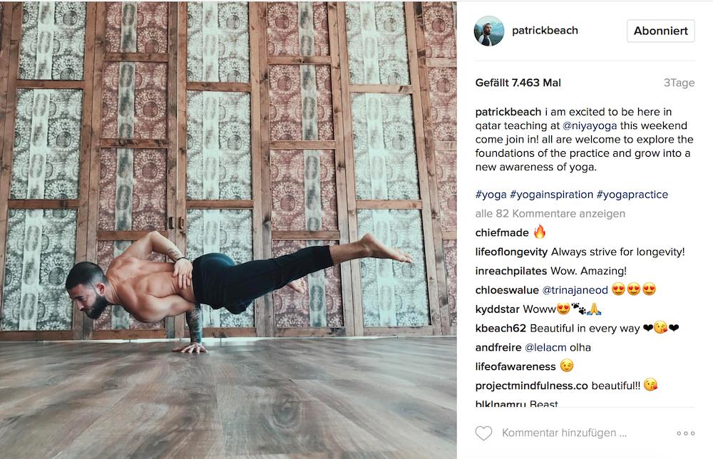 Yogi Patrick Beach (Instagram)