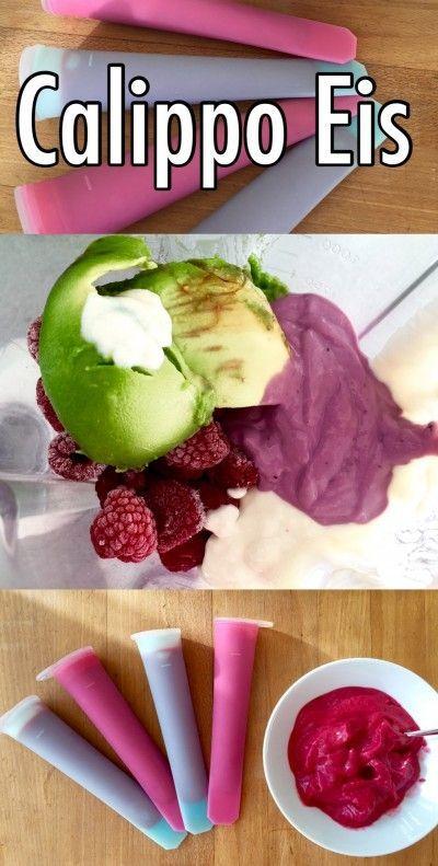 Calippo Eis selber machen (vegan, zuckerfrei, Cola)