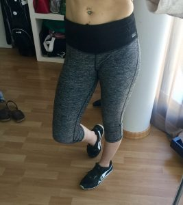 Formbelt Laufgürtel Hose im Laufgürtel Test