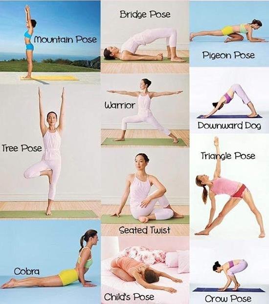 Yoga Übungen für Anfänger Übungen