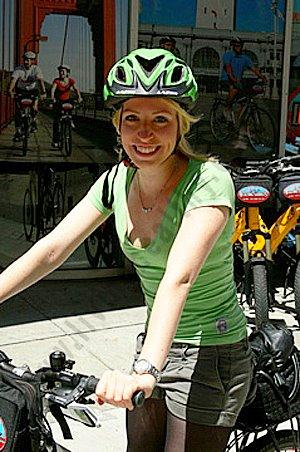 Sportliche Radtour San Francisco in Kalifornien