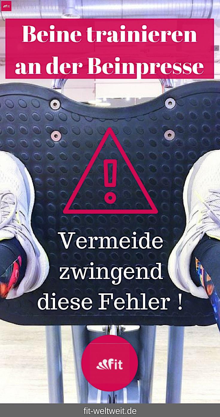 Fehler vermeiden: Beinpresse Po Muskeln mit Gewicht fit machen Die Beinpresse im Fitness Studio (kaufen). Po und die Quads Muskeln (Oberschenkel) trainieren. Anleitung, welche Muskulatur? Gewichte richtig einstellen #Beinpresse #Fehler #Fußstellung Beinpresse für zuhause kaufen