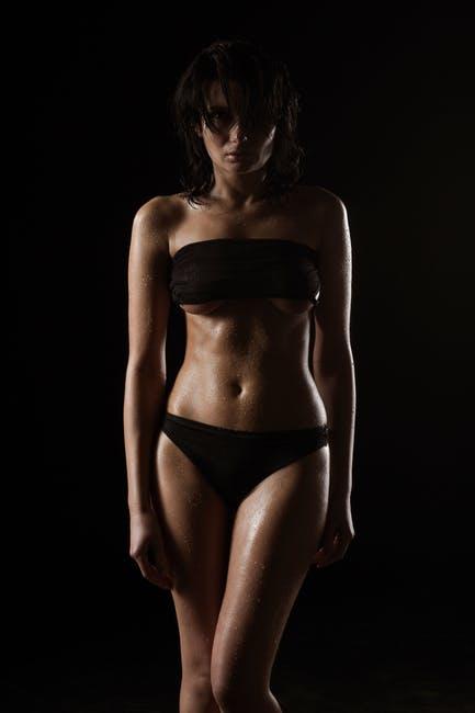 Sixpack Body bei einer Frau