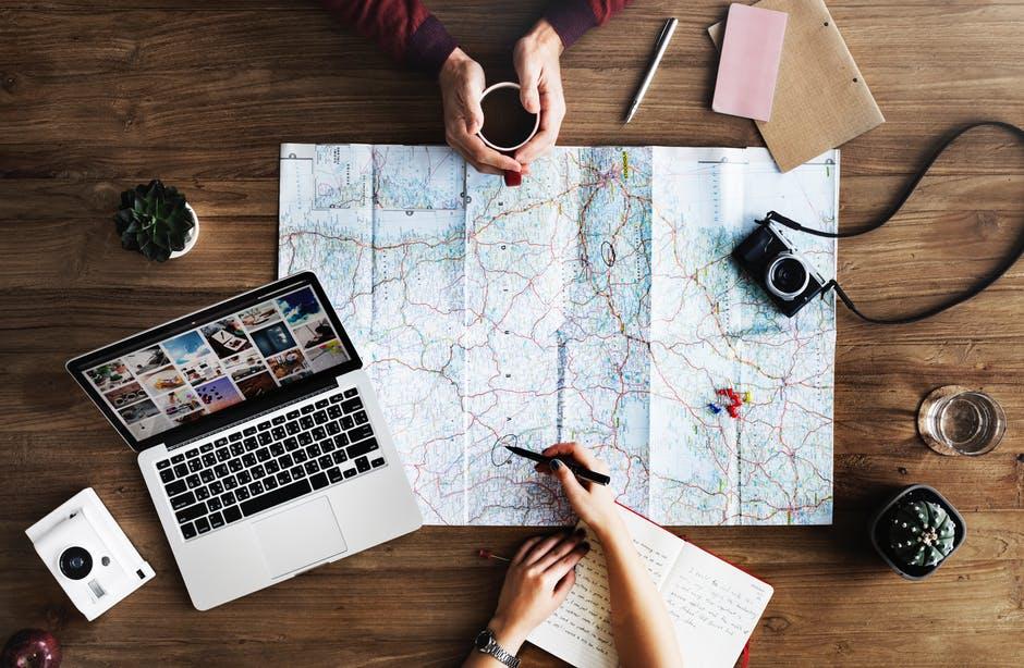 Ziele erreichen Mehr reisen - Digitale Nomaden