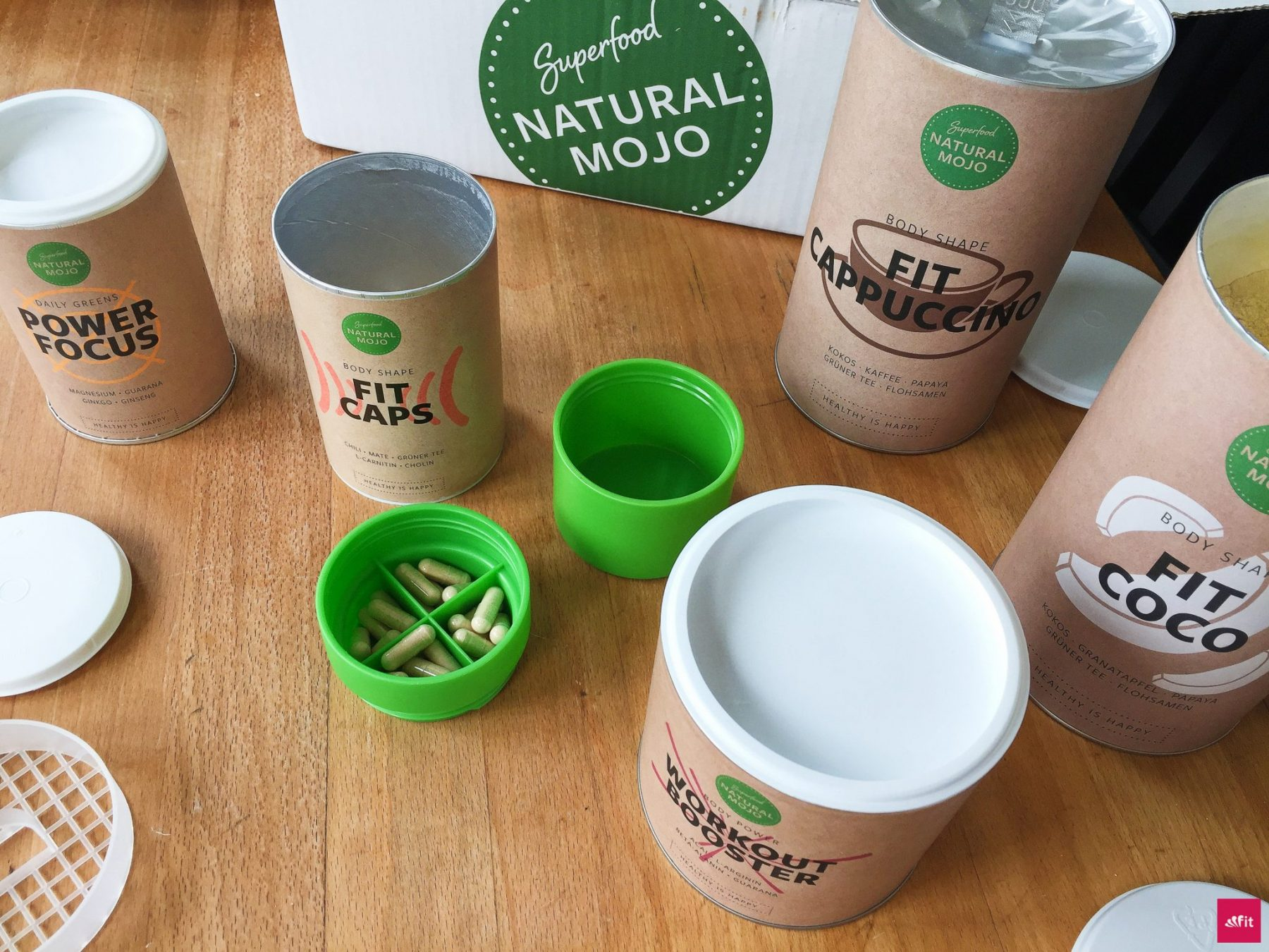 Natural Mojo Erfahrung mit Workout Booster, Power Focus