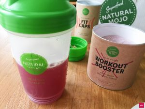 Workout Booster Erfahrung Natural Mojo