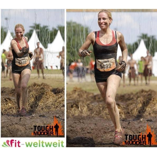 Catharina beim Tough Mudder Run 2014