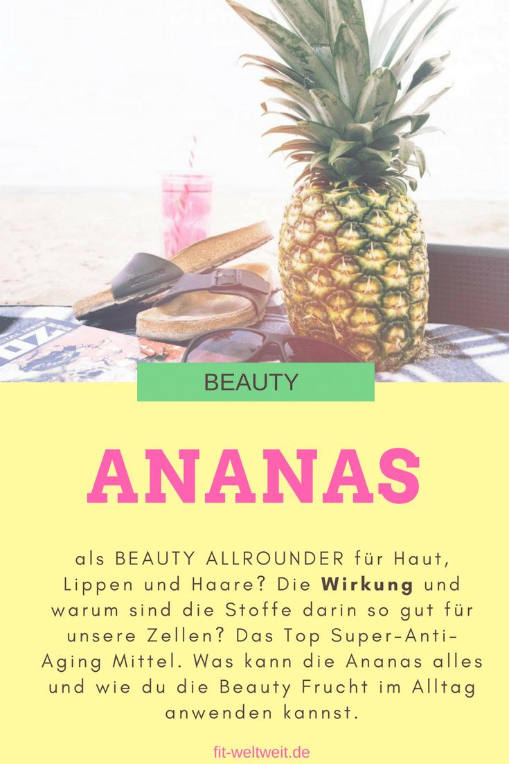 Ananas Wirkung Haut Haare Nägel Beauty. Wie wirkt Ananas auf Haare, Lippen und die Haut. Ananas zu konsumieren ist definitiv ein heißer Sommertipp und beim Picknick am See ein gern gesehenes Früchtchen.