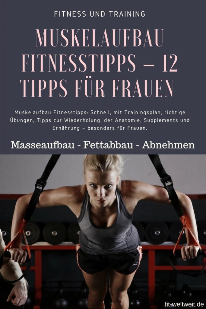Muskelaufbau Fitnesstipps, die dichschnell zum Ziel bringen. Das richtige #Training. Dazu gibt es einen Trainingsplan mit den richtigen Übungen, Tipps zurWiederholung, derAnatomie, nützliche Supplements und die effektivste Ernährung - besonders für Frauen. #Muskelaufbau für Frauen mit #Trainingsplan für zuhause (Auch für Anfänger geeignet), Ernährungsplan (welches Essen). Alles auf dem Blog. #Muskelaufbau #Frau