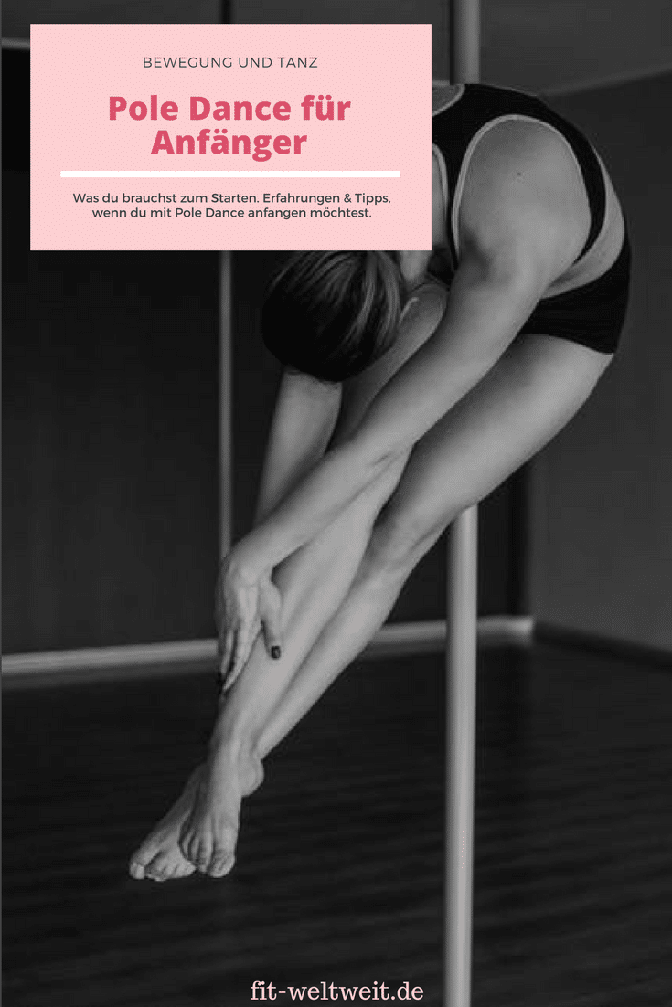 Pole Dance Anfänger Übungen - fit-weltweit.de