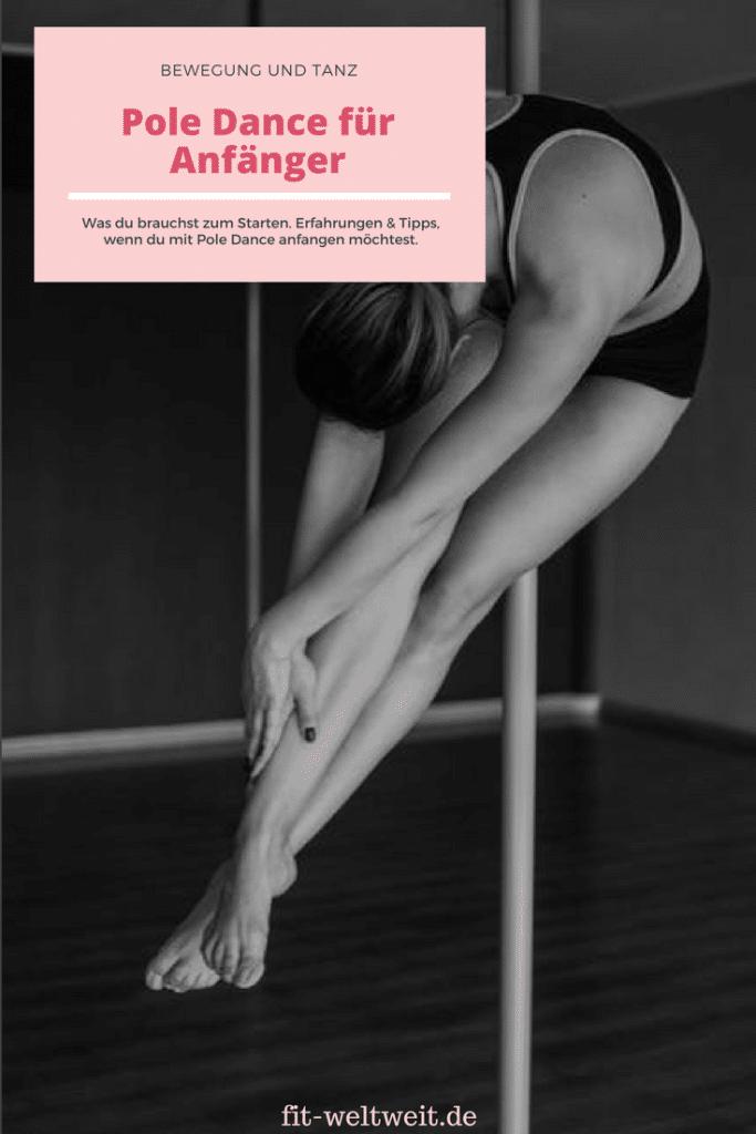 Pole Fitness Dance für Anfänger - Übungen, Erfahrungen und Tipps