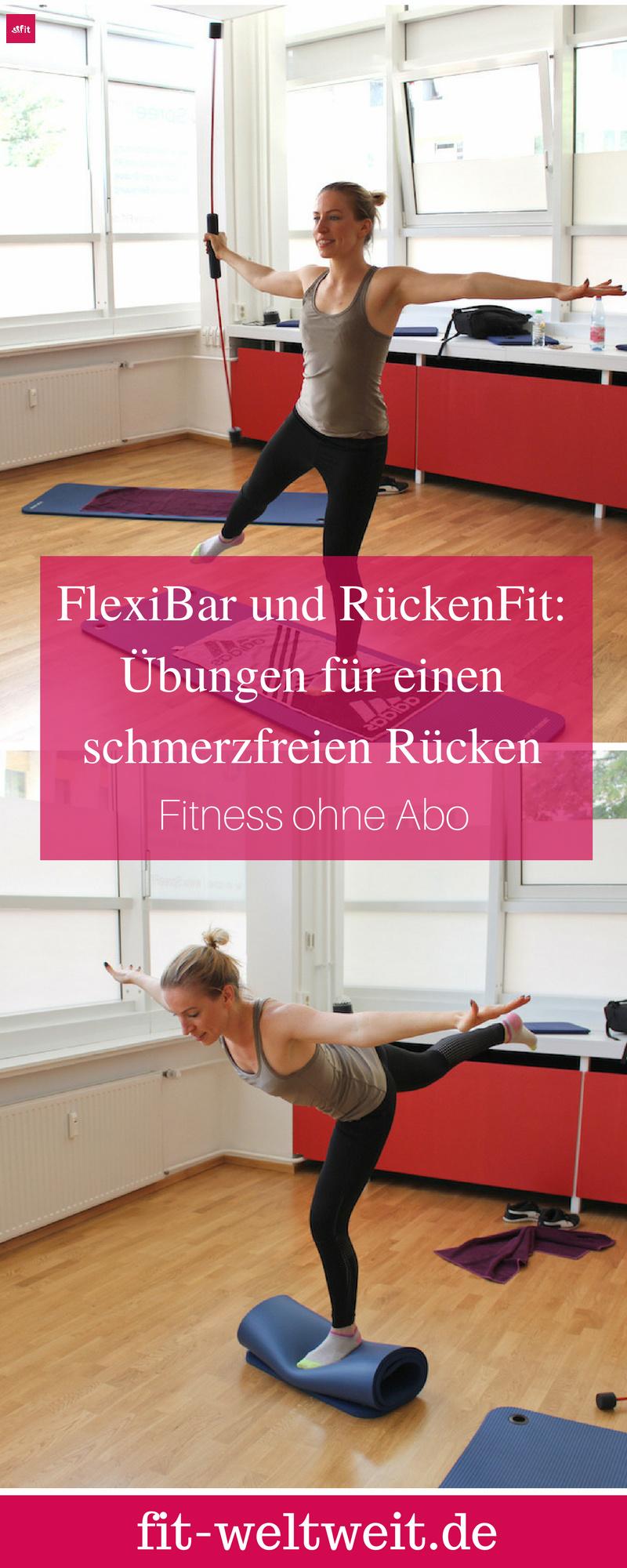 FlexiBar Übungen und Wirkung - RückenFit mit Gymflow (mit Video): Mit dem Flexi Bar kannst du Rückenschmerzen durch effektive und nachhaltige Übungen wegtrainieren. Dazu zeige ich dir mit dem Swingstick, welches als eins der wirksamsten Trainingsgeräte unserer Zeit zählt, wie es geht. Der Stab trainiert die Muskeln in der Tiefeund unterstützt beim Aufbau deiner Stützmuskulatur.