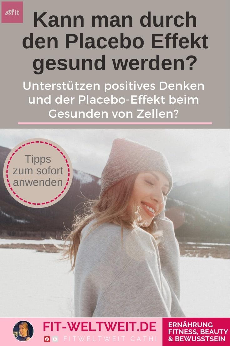 Unterstützen positives Denken und der Placebo-Effekt beim Gesunden von Zellen? Mittlerweile ist es erwiesen, dass positive Gefühle (nicht nur #positivesDenken) einen unfassbar großen Effekt auf Heilung & Glückseligkeit haben.