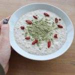 Porridge vegan recipe