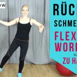 FlexiBar Übungen und Wirkung - #RückenFit mit #Gymflow (mit Video): Mit dem Flexi Bar kannst du #Rückenschmerzen durch effektive und nachhaltige Übungen wegtrainieren. Dazu zeige ich dir mit dem Swingstick, welches als eins der wirksamsten Trainingsgeräte unserer Zeit zählt, wie es geht. Der Stab trainiert die Muskeln in der Tiefeund unterstützt beim Aufbau deiner Stützmuskulatur.