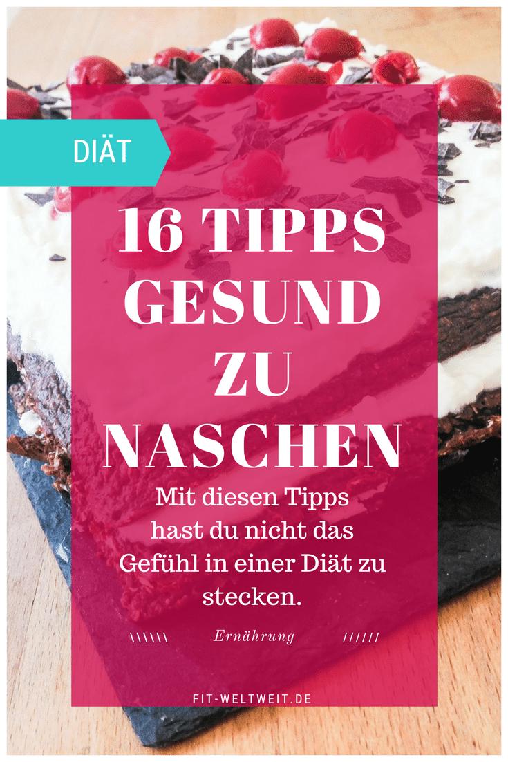 Gesund Naschen Tipps. Zahlreiche Ideen, was du bei Heißhunger, einer Diät oder auch abends knabbern kannst, anstatt Chips. Abnehmen trotz Naschen, weniger ..
