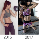 Transformation Skinny to strong girl