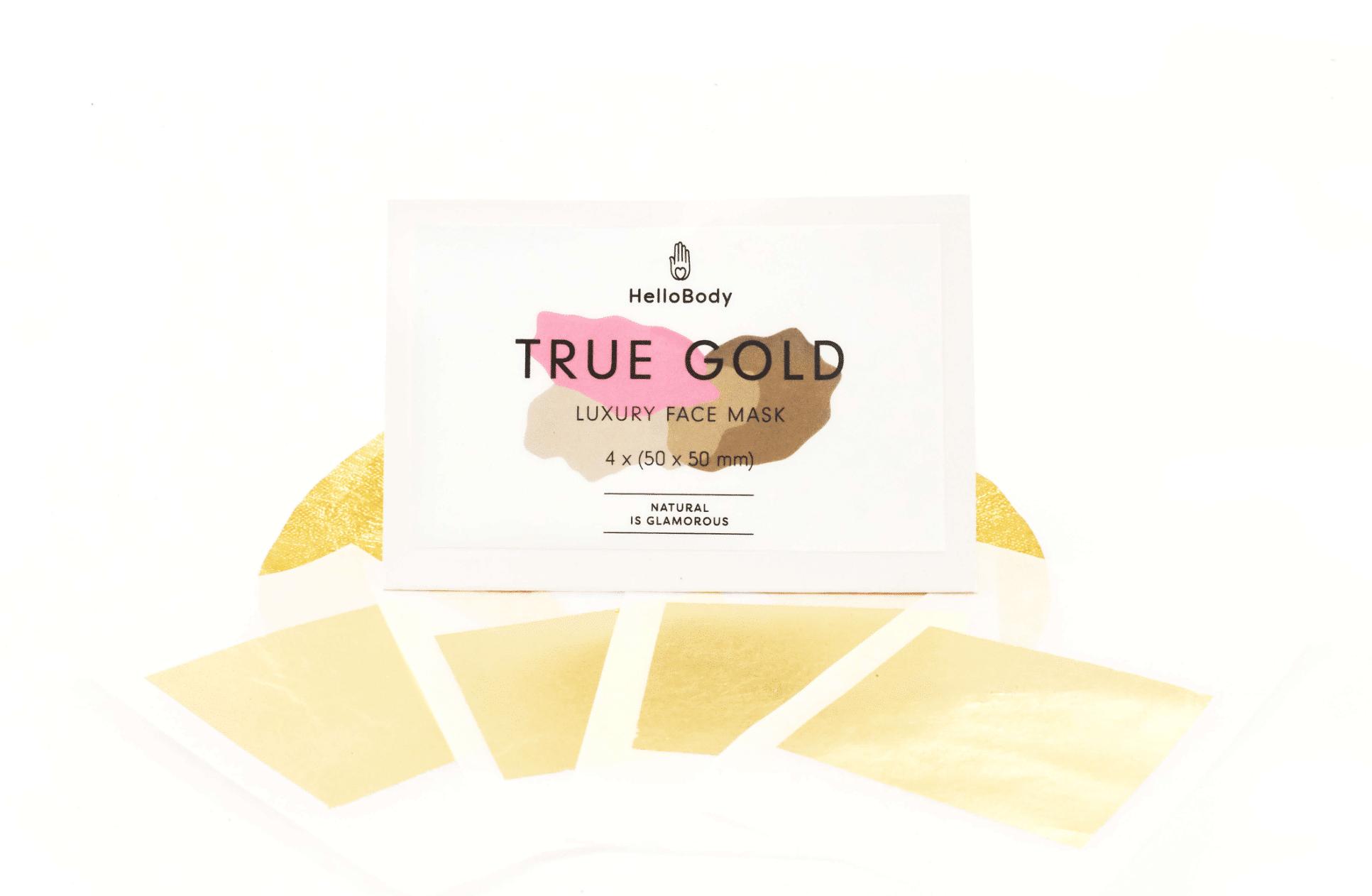 Anti Aging Gesichtsbehandlung mit Gold: Hellobody True Gold Luxury Face Mask Test, Wirkung und Erfahrung