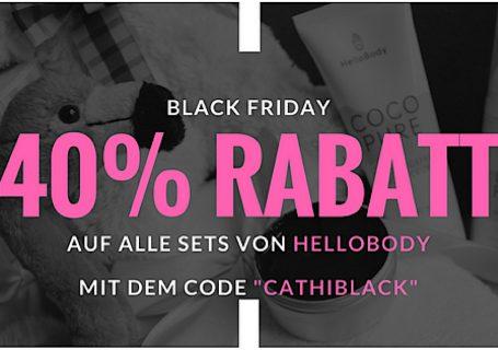 BLACK FRIDAY 40% Rabatt auf alle Sets von HelloBody