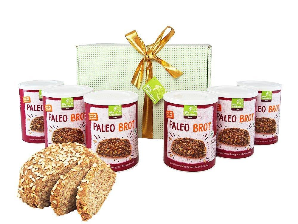 Bio Paleo Brot Backmischung | 6 er Pack - fit-weltweit.de