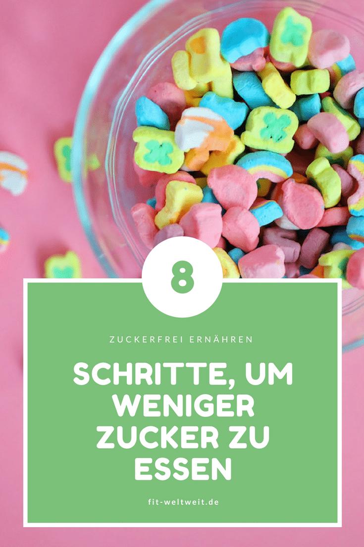 Weniger Zucker essen: 8 Schritte, die funktionieren. Du kannst sie leicht in deine Ernährung einführen (zuckerfrei) und den #Zucker austauschen und #abgewöhnen. #Zuckersucht überwinden Weniger #Zucker #essen #Schokolade #abgewöhnen