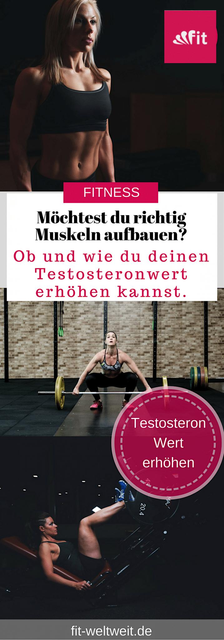 Testosteron ist immer ein gern diskutiertes Thema, oft hört man Leute darüber sprechen. Besonders die Wirkung bei der Frau und beim Mann. Höheres Testosteron: Wie du deinen Testosteronwert #natürlich #erhöhen kannst. #Testosteron als #Frau steigern mit welchen Lebensmitteln. Oder solltest du deinen Überschuss senken? Testosteron natürlich erhöhen Frau. Alle Infos auf dem Blog. #Testosteron #Wert #Frauen