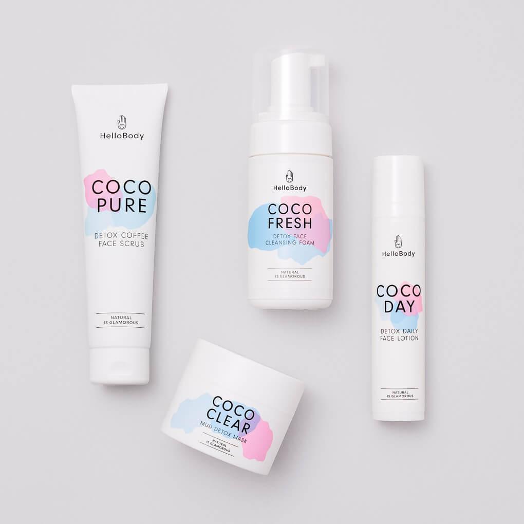 """#HELLOBODY #RABATT #CODE 20 % Rabattmit dem Gutscheincode """"FITWELTWEIT""""auf den gesamten hellobody.deShop. 30 % Rabatt auf alle Sets mit dem Gutscheincode """"CATHISET"""" Neu: Newcomer Set mit """"Coco Dream, Coco Fix und Coco Milk. 50 % Rabatt(2 für 1)auf das Coco Daily Face Set (Bestseller)mit dem Gutscheincode """"CATHIDAILY"""" - Kaufe 1 Set und erhalte das zweite Set gratis dazu."""