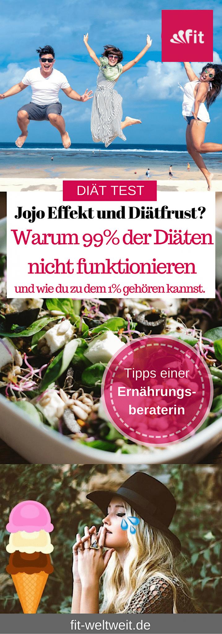 Nimmst du mit deiner Diät auch nicht DAUERHAFT ab? 99% der Diäten gehen schief und bringen eher #Diätfrust als #Lebenslust. Ich zeige dir, warum Diäten nicht Funktionieren und wie du zu dem 1% gehören kannst, bei denen das Abnehmen klappt. Schluss mit dem #Jojoeffekt und der #Diätlüge #Diät #abnehmen Diätfrust Diät funktioniert nicht